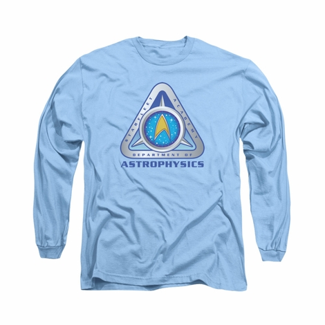 Star Trek Academy Astrophysics Long Sleeve T Shirt
