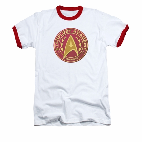 Star Trek Academy Command Ringer T Shirt