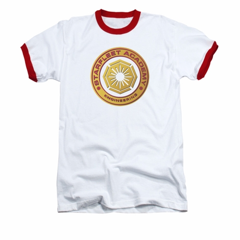 Star Trek Academy Engineering Ringer T Shirt