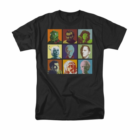 Star Trek Alien Squares T Shirt