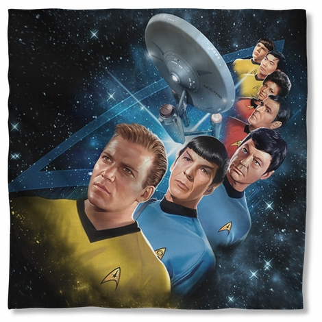 Star Trek Among Stars Bandana