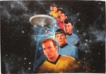Star Trek Among Stars Sublimated Pillow Case