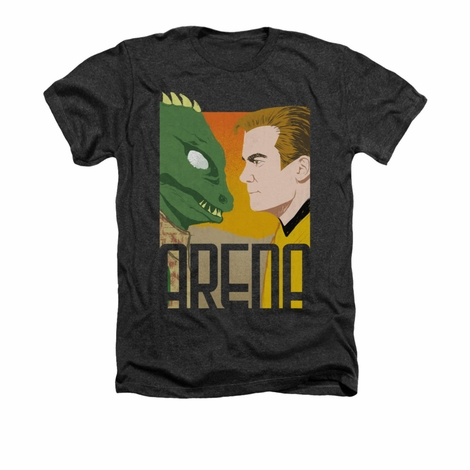 Star Trek Arena Face Off Heather T Shirt