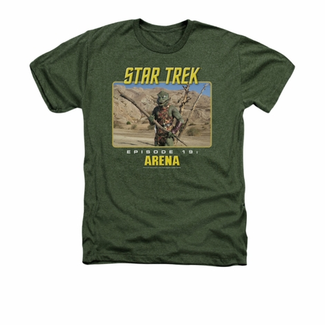 Star Trek Arena Heather T Shirt