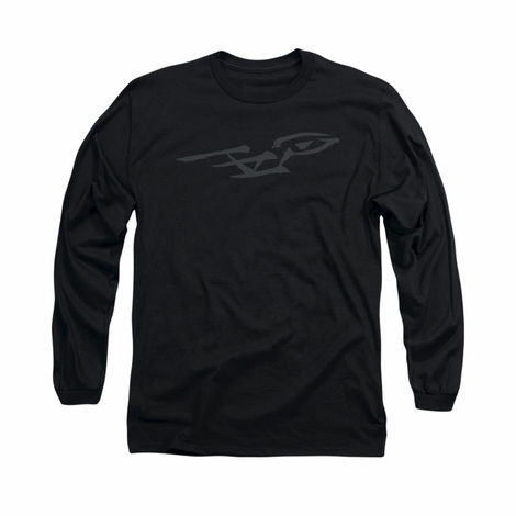 Star Trek Brushwork Enterprise Long Sleeve T Shirt