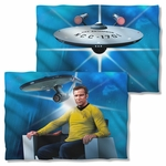 Star Trek Captain's Chair FB Pillow Case