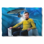 Star Trek Captain's Chair Pillow Case