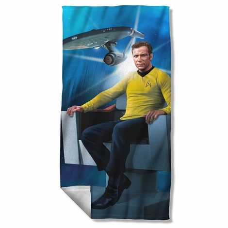 Star Trek Captain's Chair Towel