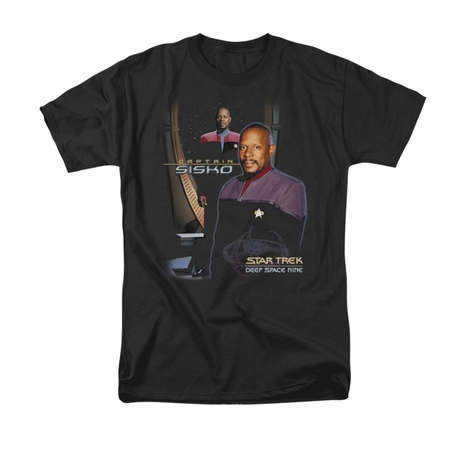 Star Trek Captain Sisko T Shirt