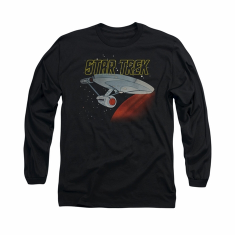 Star Trek Classic Enterprise Long Sleeve T Shirt