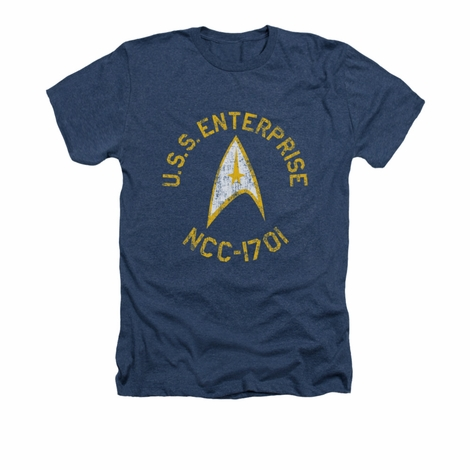 Star Trek Collegiate Heather T Shirt