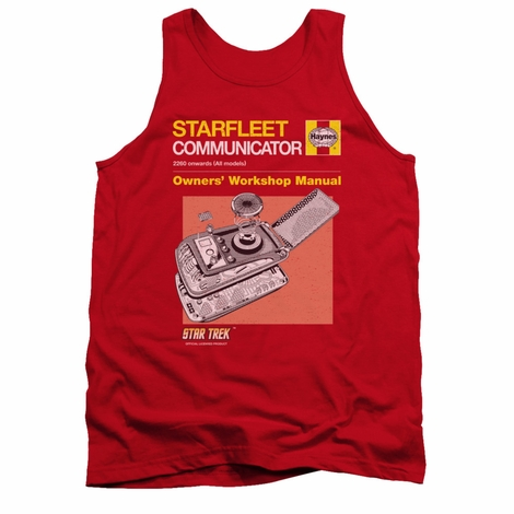 Star Trek Comm Manual Tank Top
