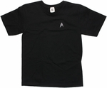Star Trek Darkness Insignia Youth T Shirt