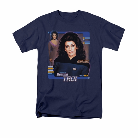 Star Trek Deanna Troi T Shirt