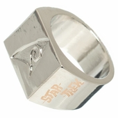 Star Trek Debossed Insignia Ring