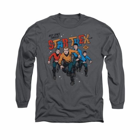 Star Trek Deep Space Thrills Long Sleeve T Shirt