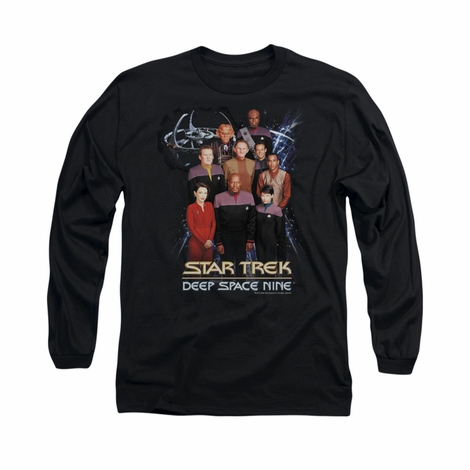 Star Trek DS9 Crew Long Sleeve T Shirt