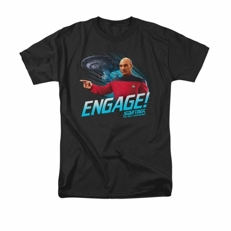 Star Trek Engage T Shirt