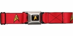 Star Trek Engineering Officer Logo Seatbelt Mesh Belt