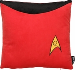 Star Trek Engineering Red Pillow