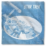 Star Trek Enterprise Blueprint Bandana