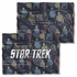 Star Trek Enterprise Crew FB Pillow Case
