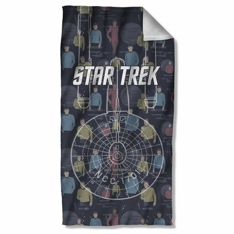 Star Trek Enterprise Crew Towel
