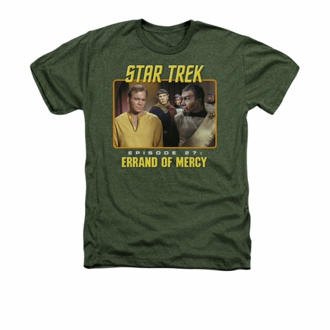 Star Trek Episode 27 Heather T Shirt