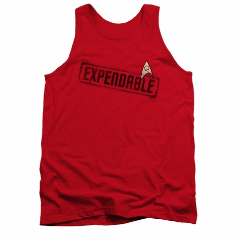 Star Trek Expendable Red Tank Top