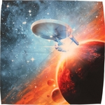 Star Trek Final Frontier Sublimated Bandana