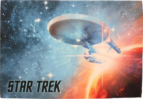 Star Trek Final Frontier Sublimated Pillow Case