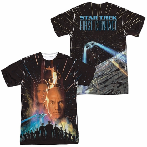 Star Trek First Contact FB Sublimated T Shirt