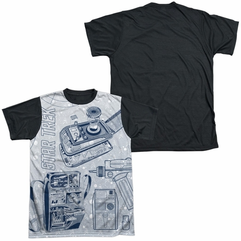 Star Trek Gadgets BB Sublimated T Shirt