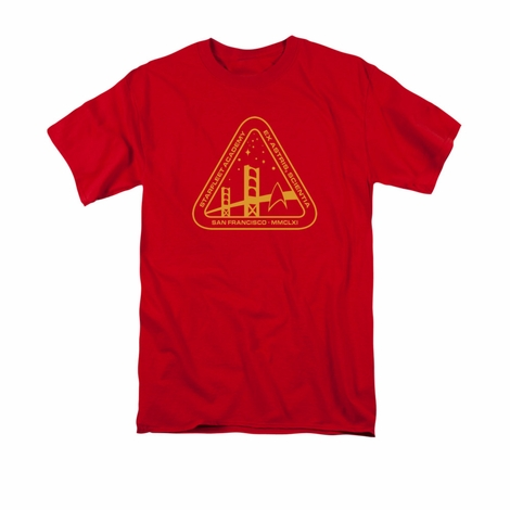 Star Trek Gold Academy T Shirt