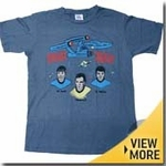 Star Trek Junk Food Shirts