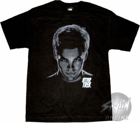 Star Trek Kirk Head T-Shirt