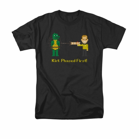 Star Trek Kirk Phased First T Shirt