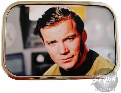 Star Trek Kirk Portrait Buckle