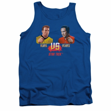 Star Trek Kirk vs Khan Tank Top