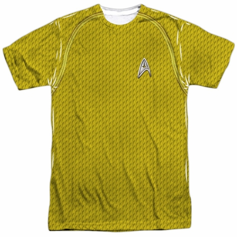 Star Trek Movie Command Sublimated T Shirt