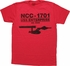 Star Trek NCC-1701 USS Enterprise T-Shirt
