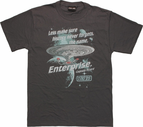 Star Trek Next Generation Never Forget T Shirt
