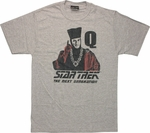 Star Trek Next Generation Q T Shirt