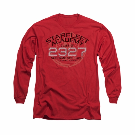 Star Trek Picard Graduation Long Sleeve T Shirt