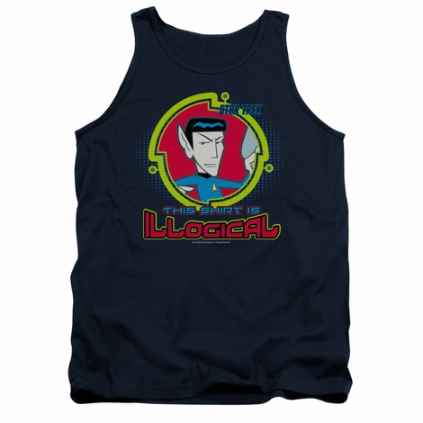 Star Trek Quogs Illogical Tank Top
