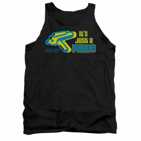 Star Trek Quogs Just a Phase Tank Top