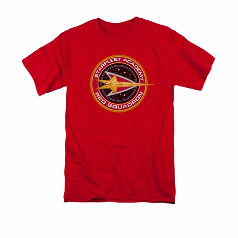 Star Trek Red Squadron T Shirt