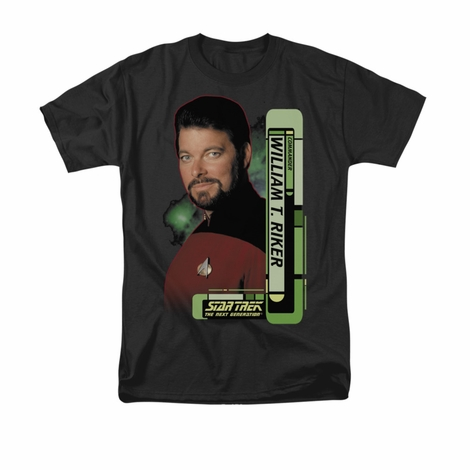 Star Trek Riker T Shirt