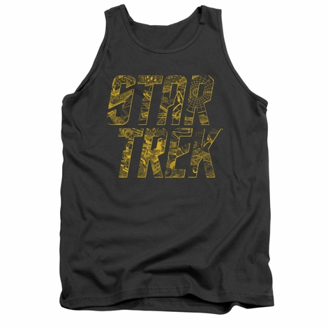 Star Trek Schematic Logo Tank Top