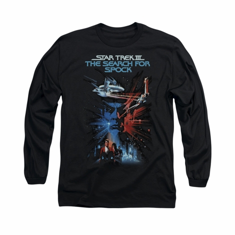 Star Trek Search for Spock Long Sleeve T Shirt